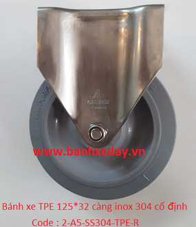 banh-xe-day-cong-nghiep-tpe-125x32-cang-inox-304-co-dinh
